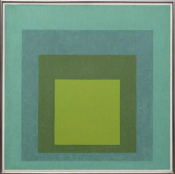 Albers - Study for Homage to the Square: High Pasture