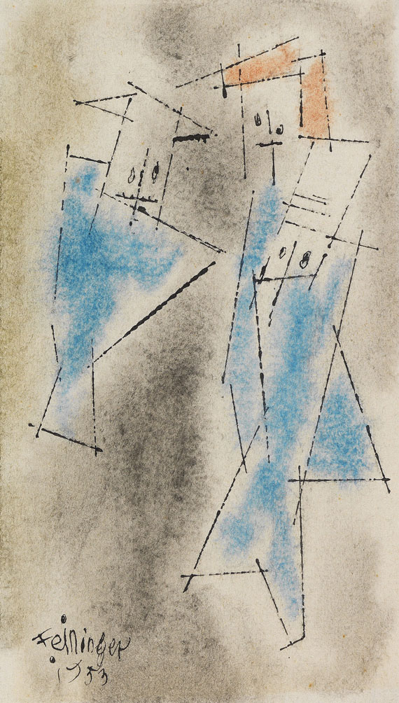 Lyonel Feininger - Ghosties