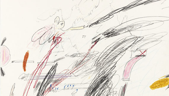 Cy Twombly - Untitled (Notes from a Tower) - Altre immagini