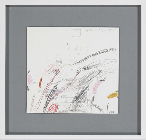 Cy Twombly - Untitled (Notes from a Tower) - Cornice