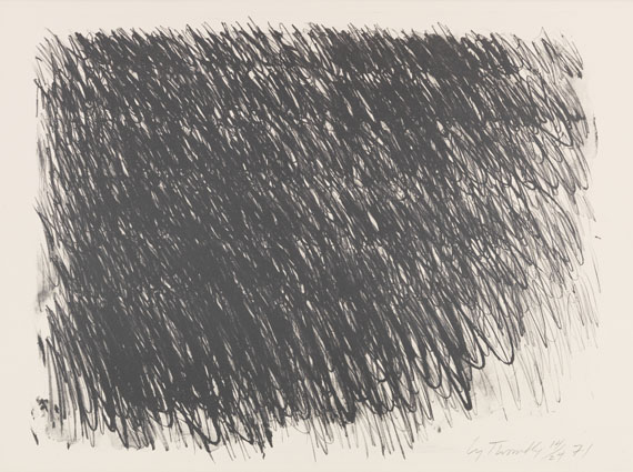 Cy Twombly - Untitled (6 Blätter) - Altre immagini