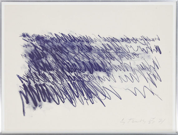 Cy Twombly - Untitled (6 Blätter) - Cornice